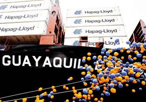 HLAG Taufe Guayaquil Express